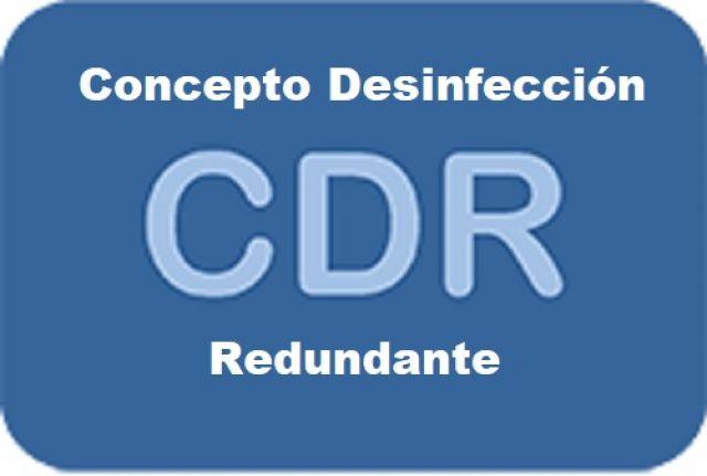 CONCLUSIONES DEL GRUPO DE TRABAJO MÉTODO CDR (Concepto de Desinfección Redundante)