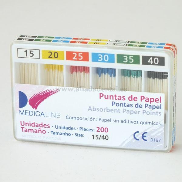 PUNTAS PAPEL PTA.COLOR N.60 200u.