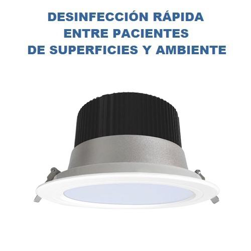 IRISCORAL FOCO DOWLIGHT PARA DESINFECCIÓN RAPIDA  ENTRE PACIENTES POR LUZ ULTRAVIOLETA UV-C  (IDÓNEO CLÍNICA DENTAL)