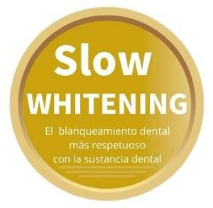 Sello blanqueamiento conservador Slow Whitening