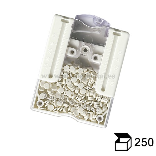 ENDO STOP TOPES SILICONA 250 UDS.