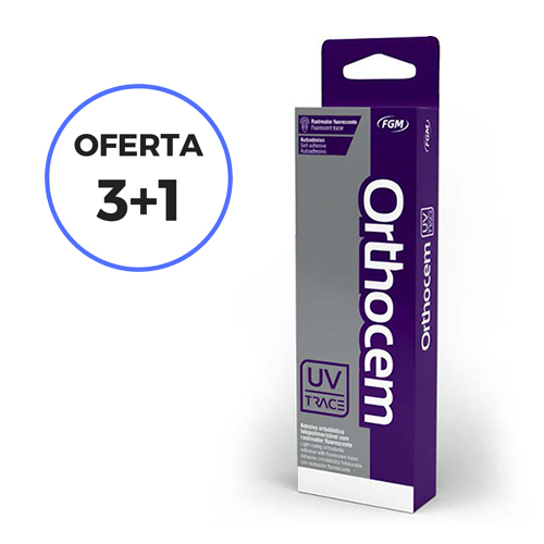 OFERTA 3+1 CEMENTO PARA BRACKETS ORTHOCEM