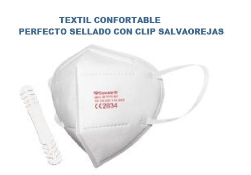 PACK 50 MASCARILLAS DE PROTECCIÓN FFP2 NR MODELO MAX 4B LA UNIDAD SALE A 1,95.-€+IVA