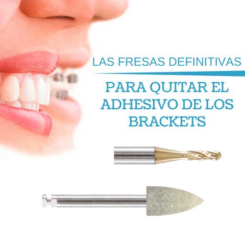 PACK FRESAS RETIRADA ADHESIVO BRACKETS