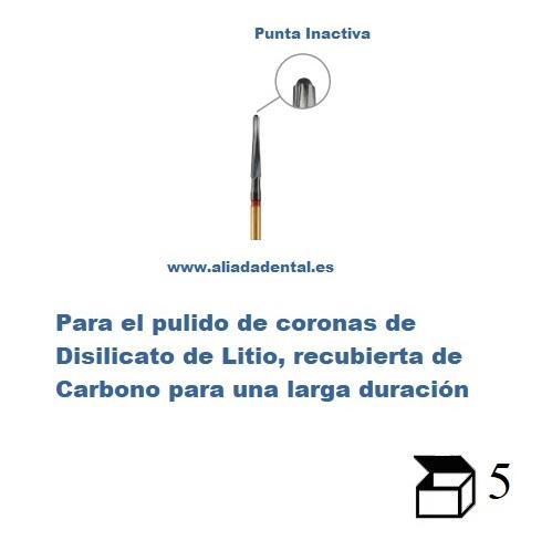 FRESA TC FINISHER FGXL CARBURO PARA PREPARACION CERAMICA DISILICATO DE LITIO