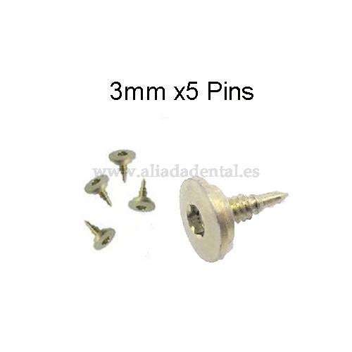 TI-PIN 3MM (5 UNI.)