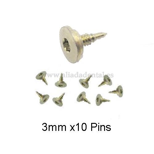 TI-PIN 3MM (10 UNI.)