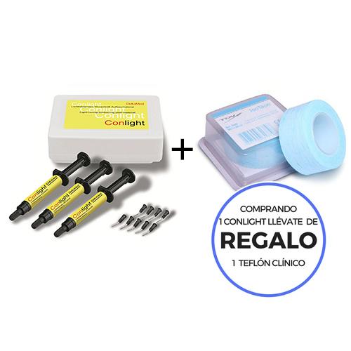 OFERTA CONLIGHT GEL PARA MODELACION DIRECTA EN BOCA  + REGALO  TEFLON CLINICO