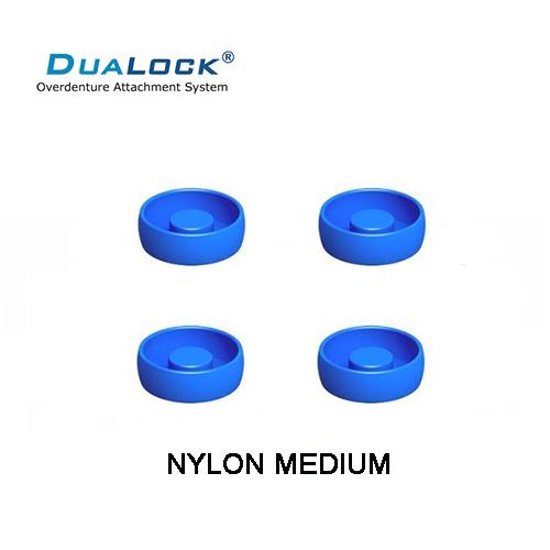 GOMAS COMPATIBLES CON LOCATOR® DUALOCK® REPOSICION BOTON RETENCION AZUL EN NYLON MEDIUM RETENCION 1.5 LIBRAS