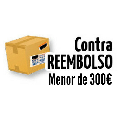 PAGO CONTRAREEMBOLSO HASTA 300 €