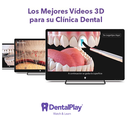 Pack Vídeos Educativos 3D Dentalplay