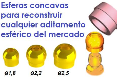 KIT RECONSTRUCCION ESFERAS DESGASTADAS