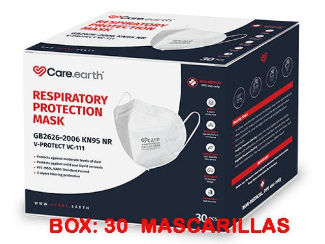 PACK 10 MASCARILLAS DE PROTECCIÓN FFP2 NR MODELO MAX 4B LA UNIDAD SALE A 2,40.-€+IVA