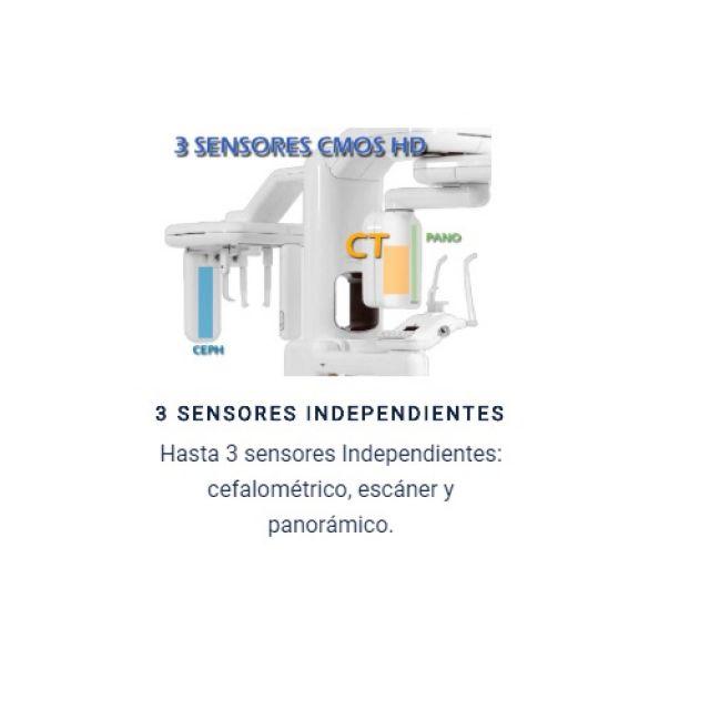 TAC 3D CBCT, Panorámico y Cefalometría - Genoray Papaya 3D Plus